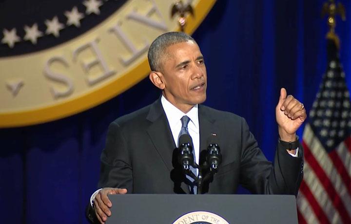 Obama, il discorso di addio