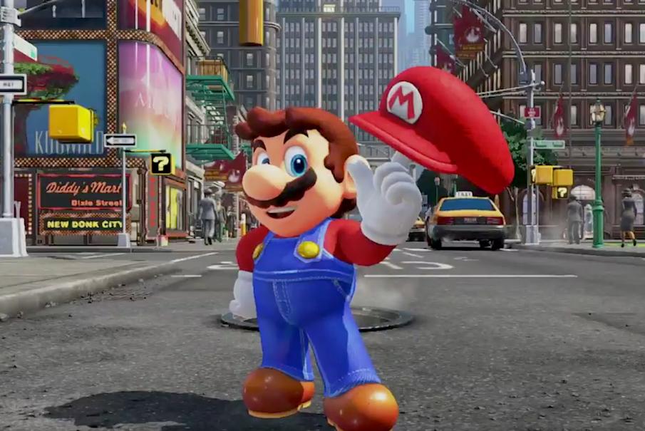 SUPER MARIO ODYSSEY annunciato per Nintendo Switch