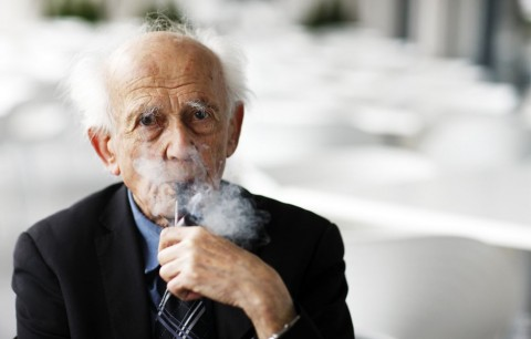 Zygmunt Bauman, foto di M. Oliva Soto