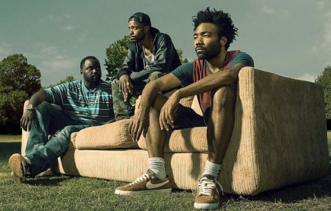 "Donald Glover in una scena di ""Atlanta"""