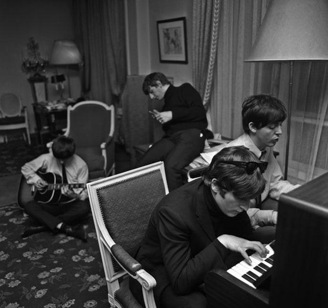 The Beatles, foto di Harry Benson