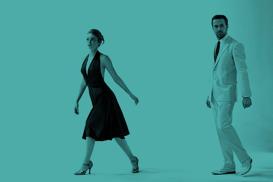 Emma Stone e Ryan Gosling, protagonisti di La La Land