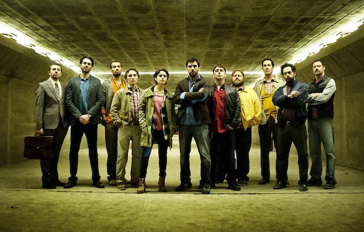 Il cast di Smetto Quando Voglio - Masterclass, foto di Emanuela Scarpa