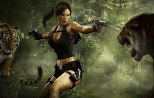"""Un'immagine da """"Tomb Raider: Underworld"""" l'ottavo episodio della saga di videogame"""