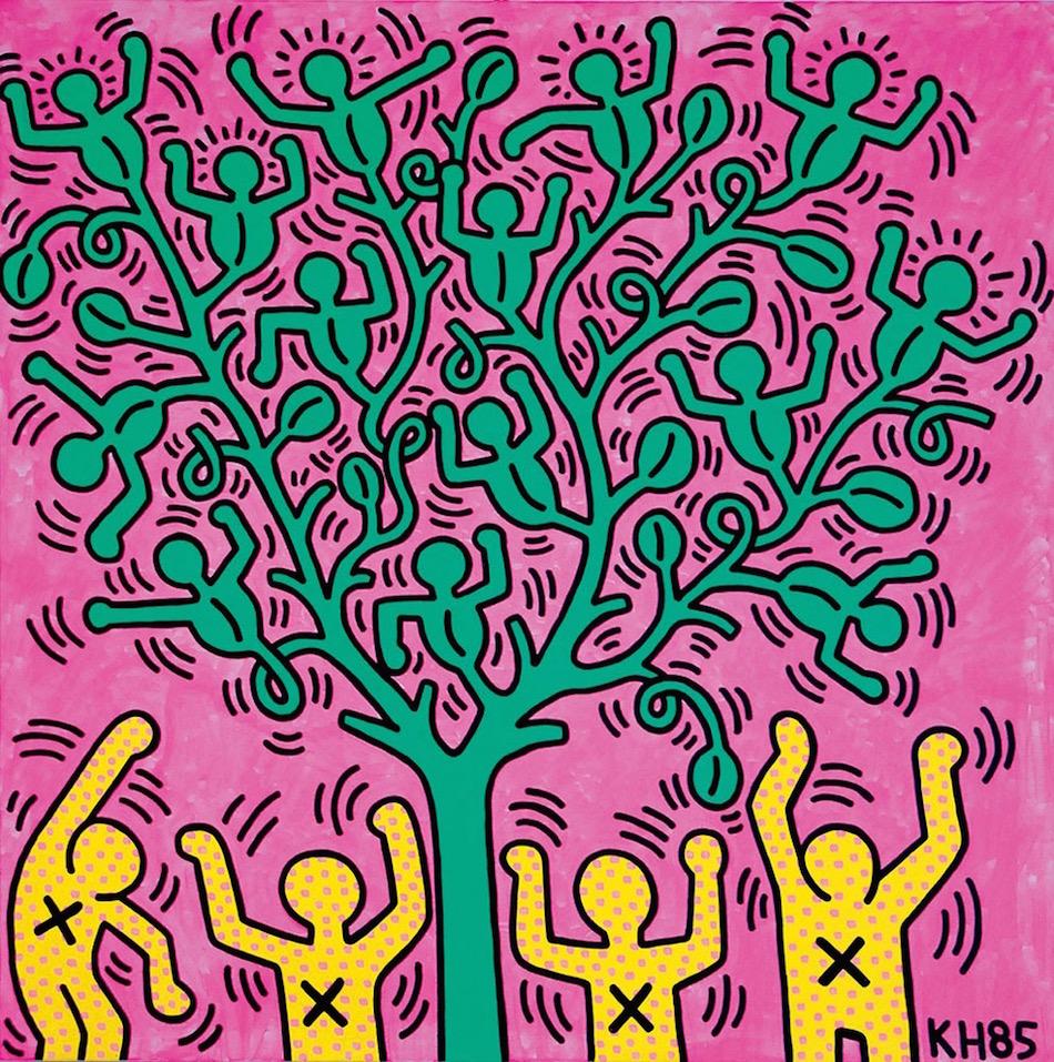 Sbarca A Milano Il Genio Di Keith Haring Rolling Stone Italia