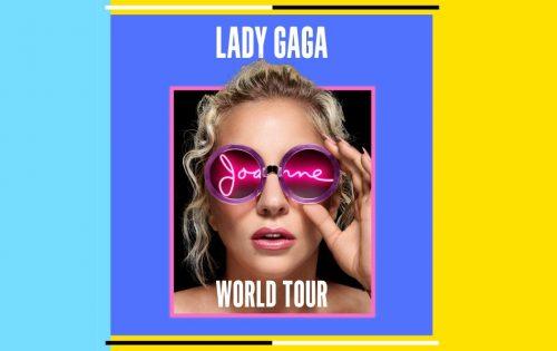 Lady Gaga ha annunciato il tour mondiale (con tanto di data italiana)
