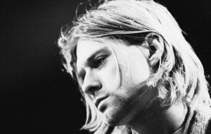 Kurt Cobain durante il concerto 'MTV Unplugged' del 1993, foto di Frank Micelotta/Getty Images