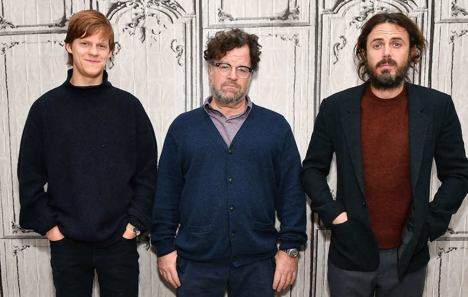 Kenneth Lonergan con il cast di Manchester By the Sea