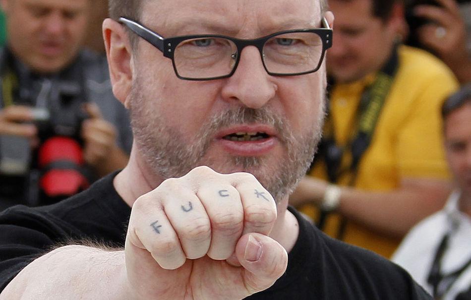 Lars Von Trier, foto di Francois Guillot/AFP/Getty Images