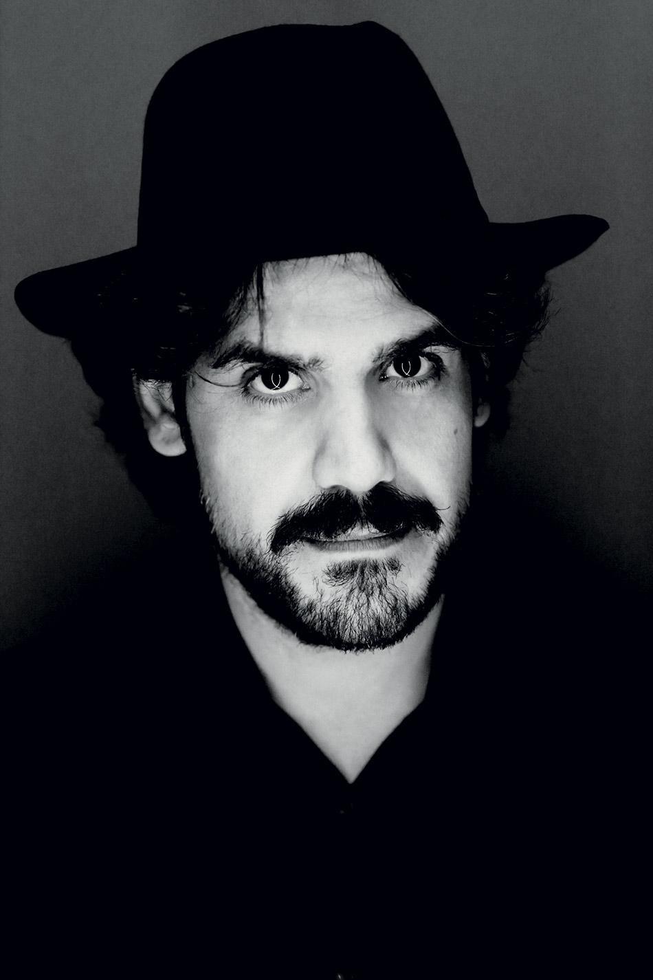 """Mannarino da Giovanni Gastel per le """"100 facce della musica italiana"""" Rolling Stone nel dicembre 2014"""