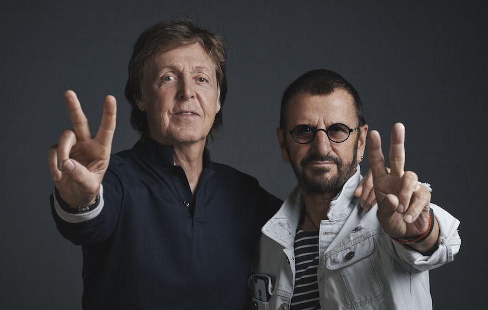 Paul McCartney e Ringo Starr di nuovo in studio insieme ...