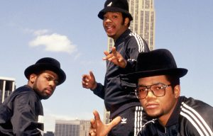 Run DMC, New York City, 1985 foto di Michael Ochs Archives/Getty Images