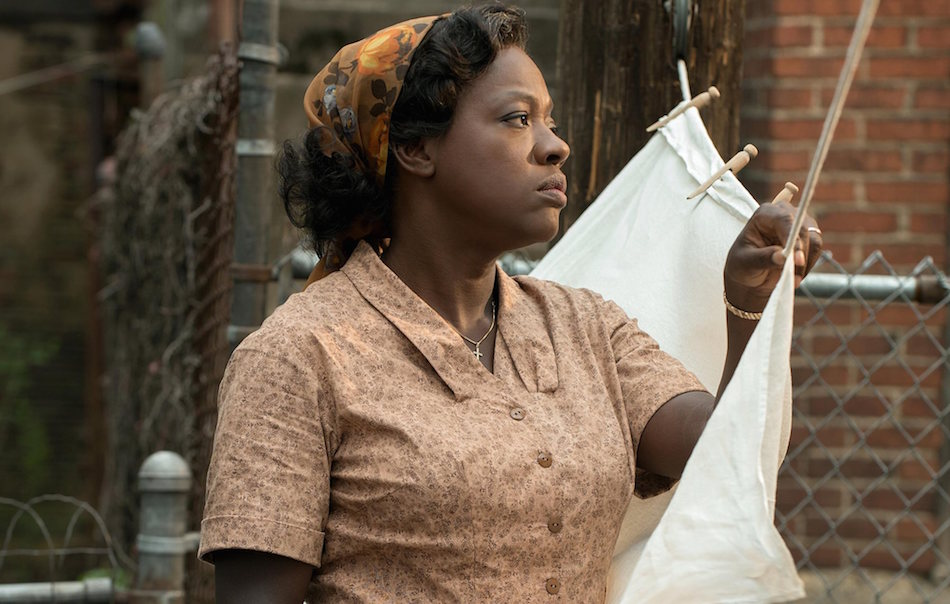Viola Davis in Barriere