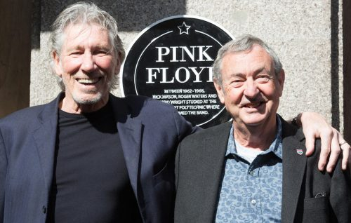 Roger Waters con Nick Mason