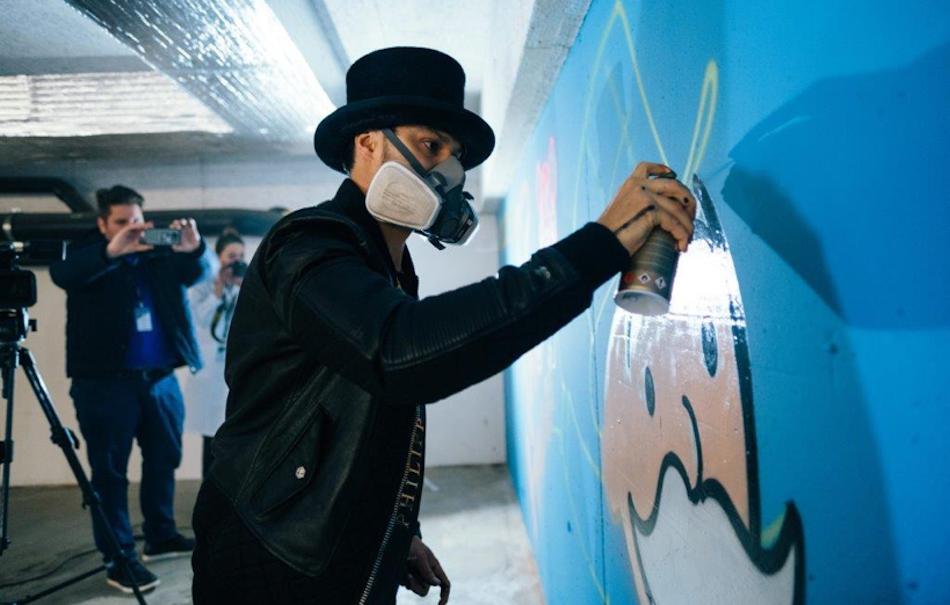 "Alec Monopoly è il misterioso street artist, ""Art provocateur"" di Tag Heuer."