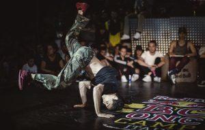Il vincitore del cypher 2016, Mowgli. Foto: Mauro Puccini/Red Bull Content Pool