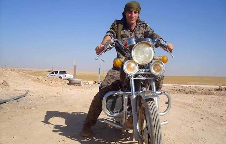 Davide, partito dall'Italia per combattere l'Isis in prima linea