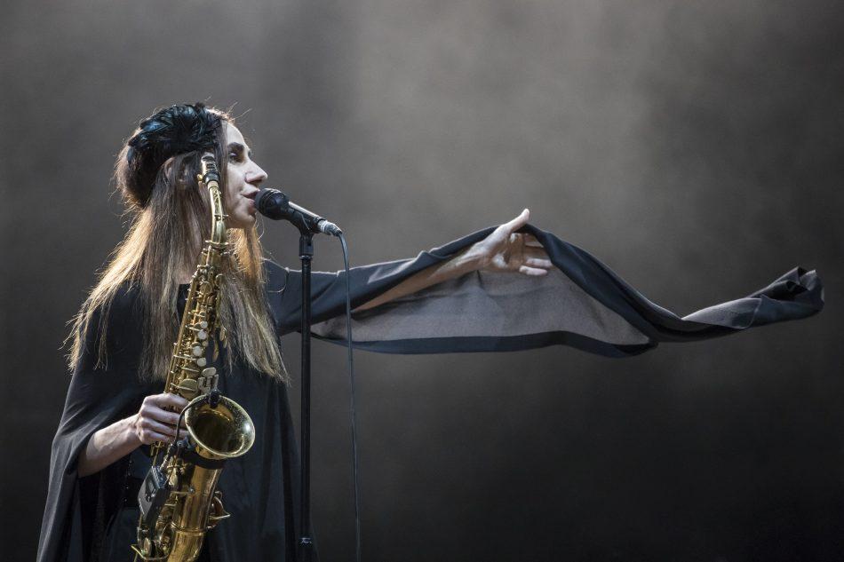 PJ Harvey al Primavera Sound di Barcelona, in Spagna, il 4 giugno scorso -Foto di Xavi Torrent/WireImage
