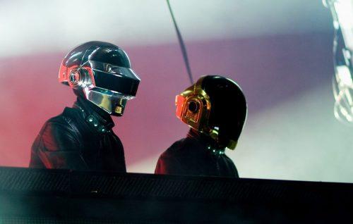 Daft Punk live a Brisbane, Australia nel 2007. Foto di Marc Grimwade/WireImage