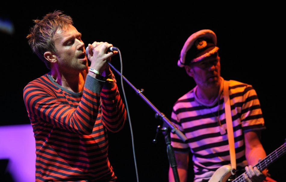 Gorillaz live al Coachella nel 2010.( Photo by John Shearer/WireImage)