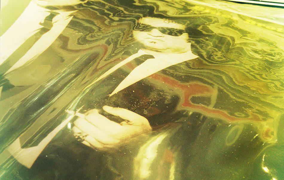 Una delle opere di Pier Paolo Pitacco della serie Vanishing Covers