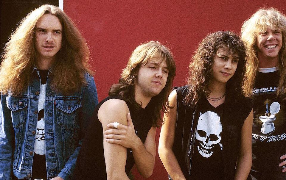 I Metallica nel 1985, foto di Mike Cameron/Redferns