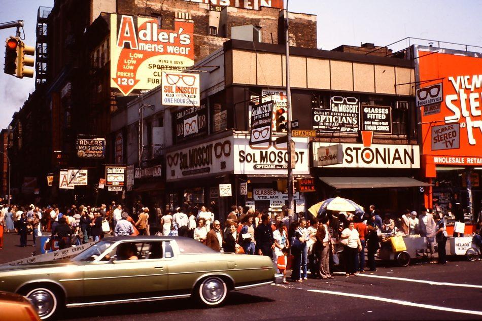 Moscot, uno dei flagship store degli anni '70