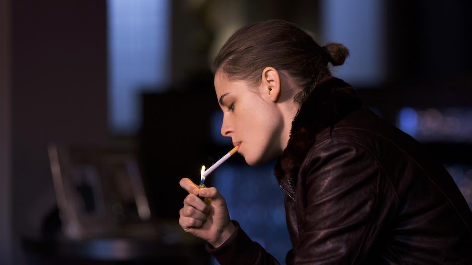 Kristen Stewart in Personal Shopper. Copyright Carole Bethuel
