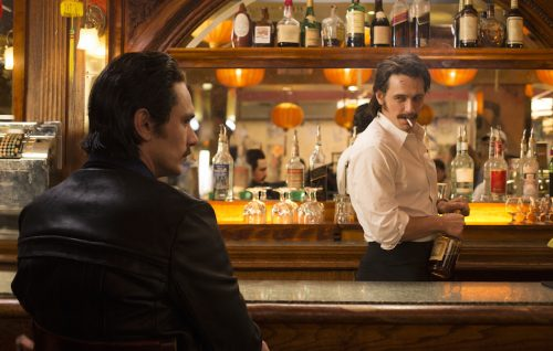 James Franco nell'episodio pilota di The Deuce, foto di Paul Schiraldi