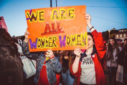 #lottomarzo, non una di meno, donna, festa della donna, manifestazione, roma, milano, foto, gallery, Kimberley Ross,
