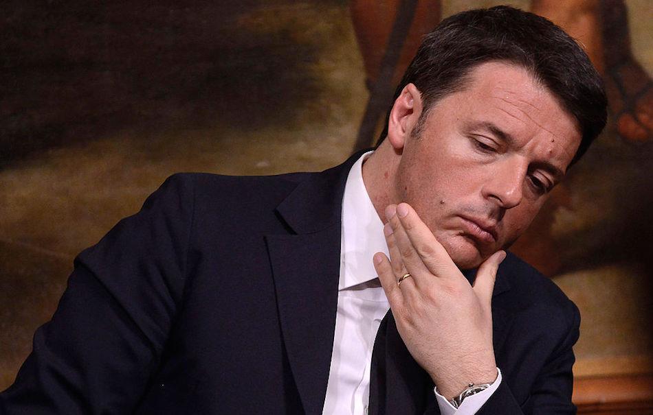 Matteo Renzi, foto di Simona Granati/Corbis via Getty Images