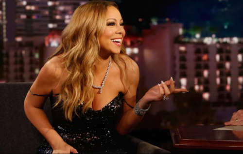 Mariah Carey al Jimmy Kimmel