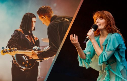 The xx foto di Kimberley Ross / Florence Welch foto di Joseph Okpako/WireImage