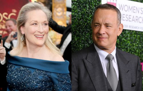 Meryl Streep e Tom Hanks (Foto di Christopher Polk/Getty Images / Foto di Jason LaVeris/FilmMagic)