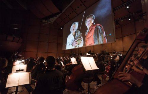 L'Orchestra Verdi ha suonato 'Ritorno al Futuro'