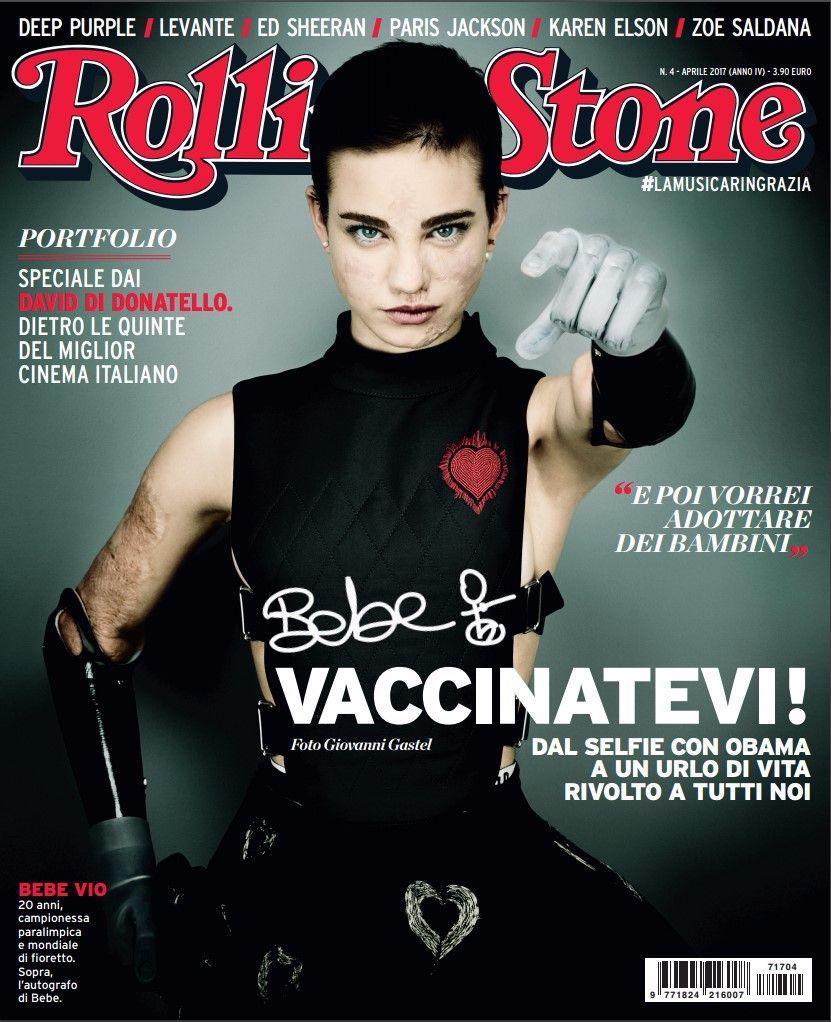 Trovate l'intervista esclusiva a Bebe Vio sul numero di Rolling Stone in edicola