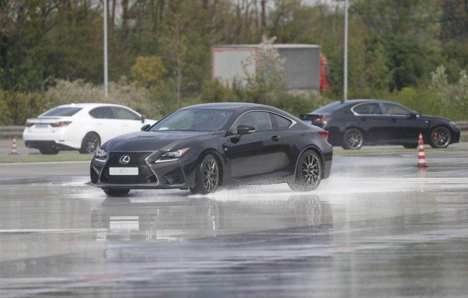 La Lexus RC F - Foto stampa