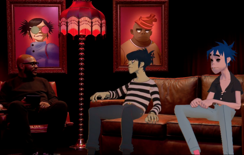 La prima intervista live ai Gorillaz, guarda qui