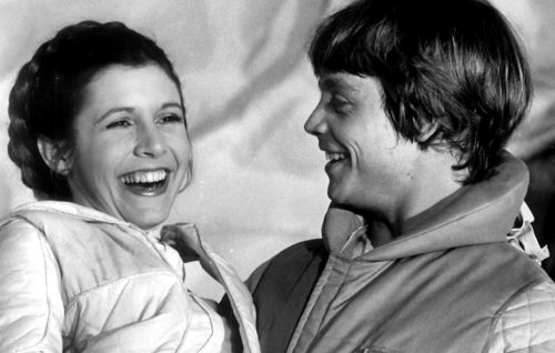 Il mondo di Star Wars saluta Carrie Fisher