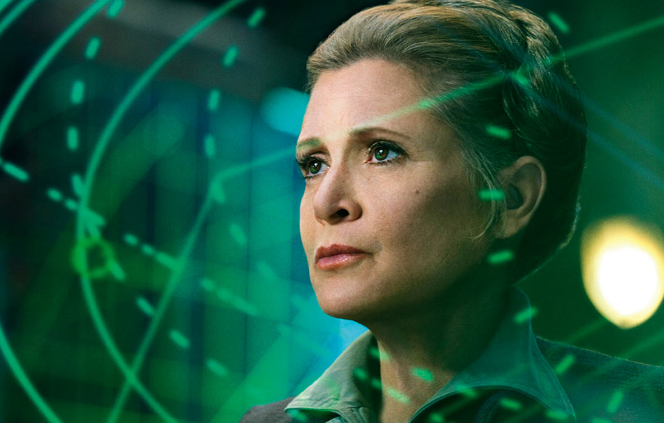 Carrie Fisher apparirà in Star Wars: Episodio IX
