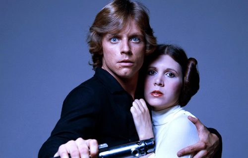Mark Hamill e Carrie Fisher. Foto di Terry O'Neill/Getty Images