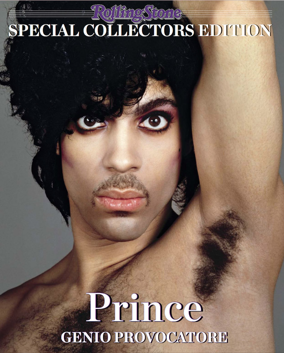 La copertina del numero speciale di Rolling Stone per celebrare la leggenda di Prince