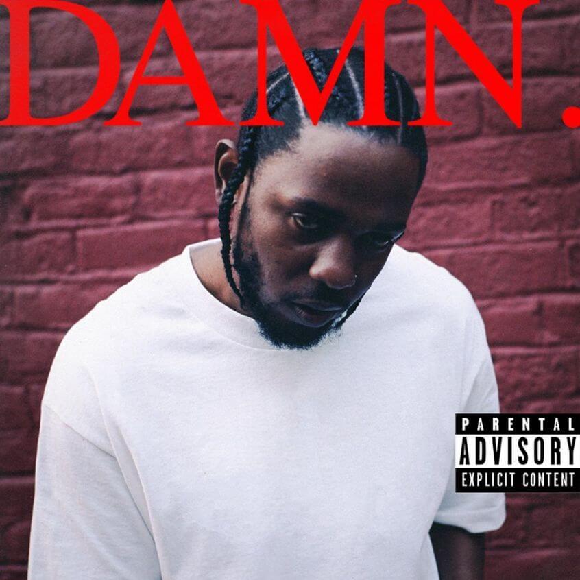 """La copertina di """"Damn"""""""