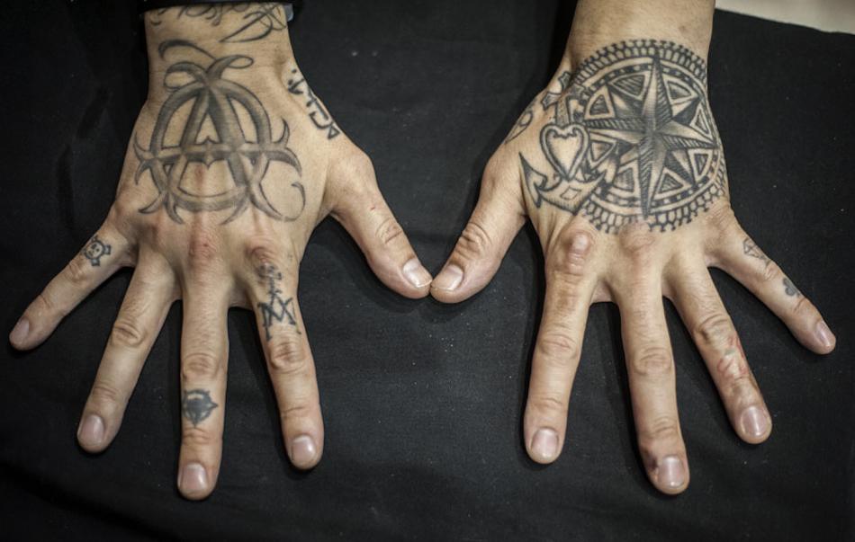 Le mani di Yushi Horikichi, Tattoo Expo Bologna - Foto di Michele Lapini