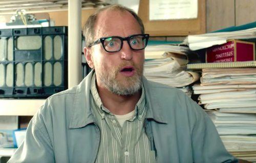 "Woody Harrelson in una scena tratta da ""Wilson"""