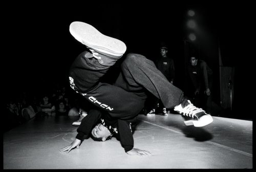Prince Ken Swift della Rock Steady Crew, 1982. Foto di David Corio/Redferns