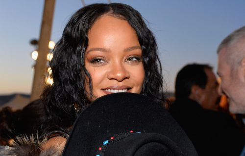 Rihanna allo show di Dior a Los Angeles. Foto Stefanie Keenan/Getty Images for Christian Dior