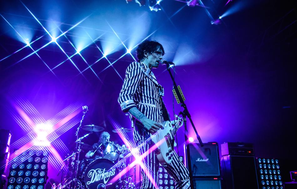 I Darkness pubblicheranno un nuovo disco nel 2017. Foto: Michele Aldeghi