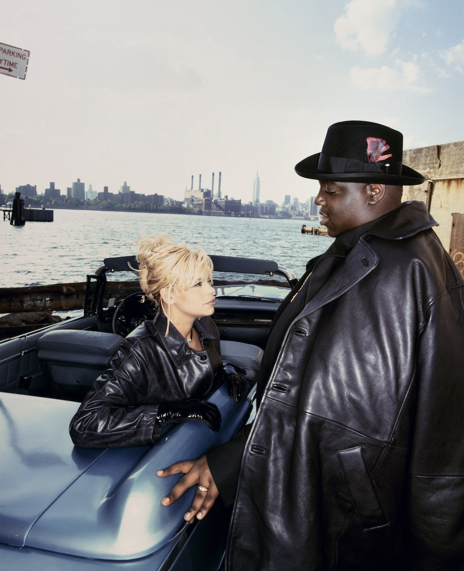 Faith Evans insieme a Notorious B.I.G. Foto di Eric Johnson