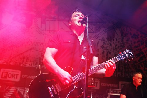 Greg Dulli, il cantante degli Afghan Whigs. Foto Roger Kisby/Getty Images